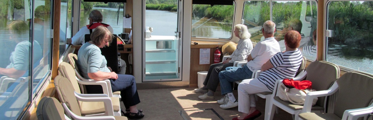 Comfort for all on board Waveney Stardust 2