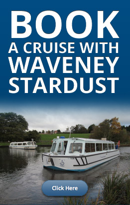 Book a cruise with Waveney Stardust