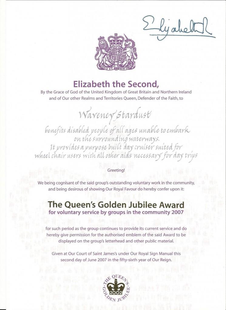 Queens Award 2007